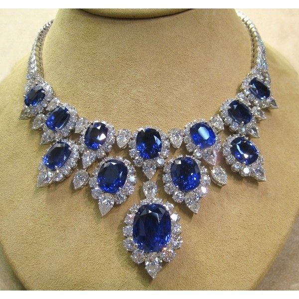 b9f5a14a7bea4 HARRY WINSTON Black Mother of Pearl Ruby Diamond Necklace ❤ liked ...