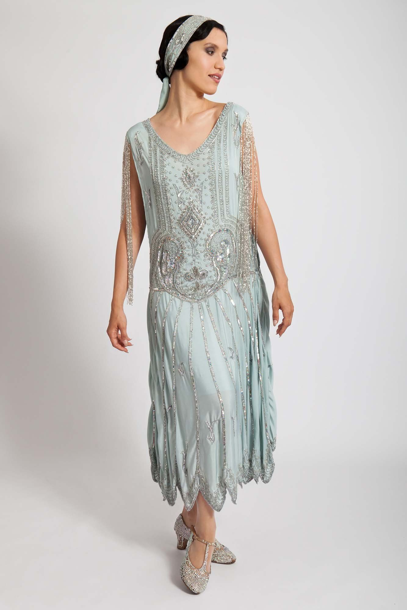 1920s Evening Dresses & Formal Gowns 1920s party dresses