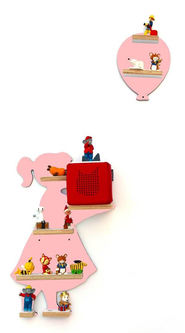 Regal | Mädchen mit Luftballon | Rosa | Passend für die Toniebox