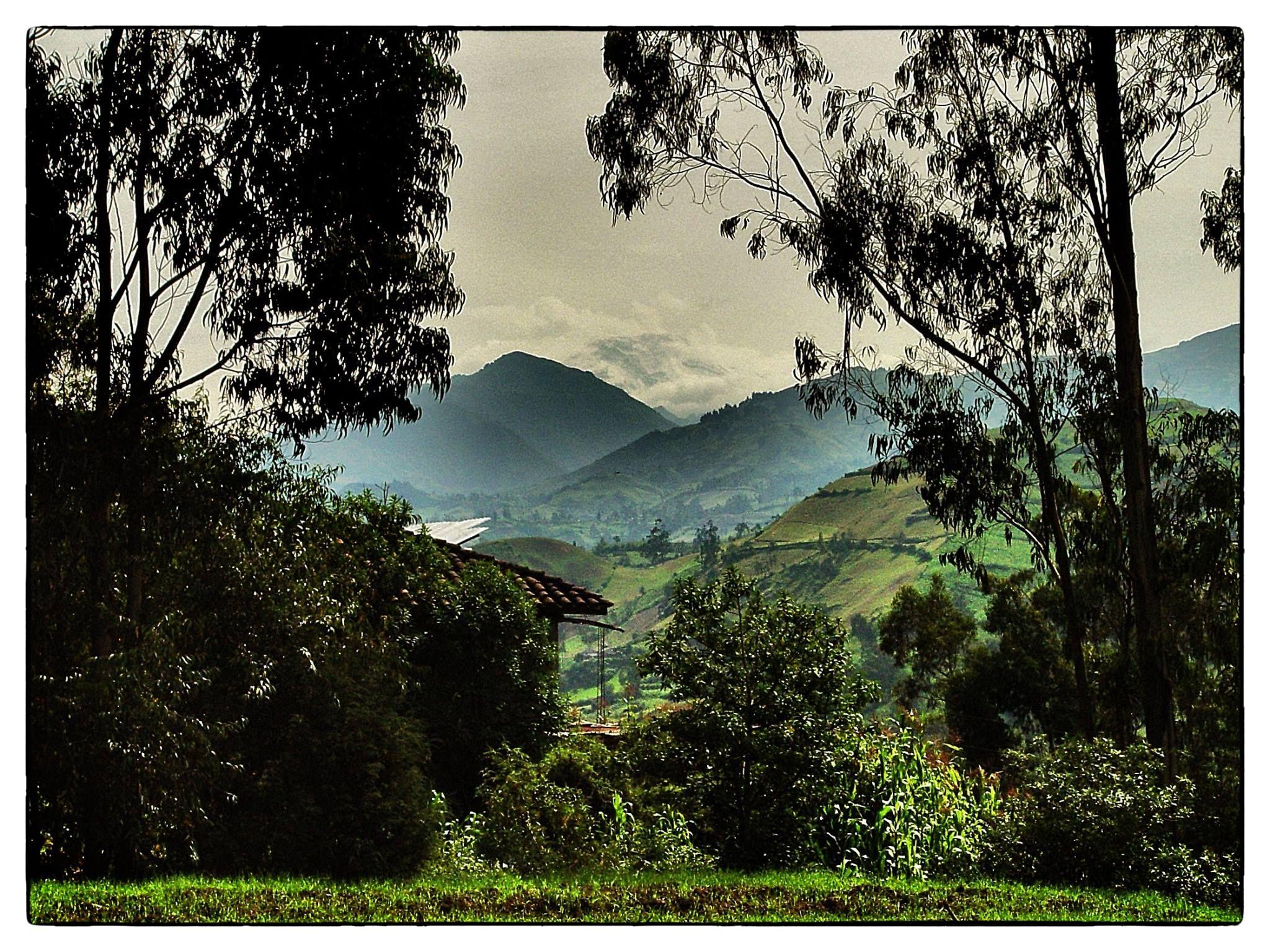 Fotografía: El coloso a la distancia. Volcán Chimborazo Autor: Jorge Enrique Gutiérrez.
