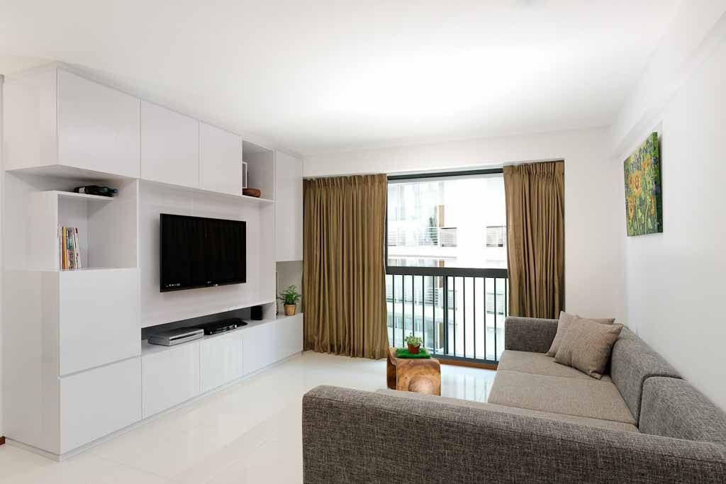 Hdb Living Room Design Ideas Singapore Tv Wall Storage