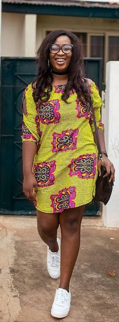 6894568e710 Online Hub For Fashion Beauty And Health  Stylish  Ankara Short Gown Dress  On Snickers For T..