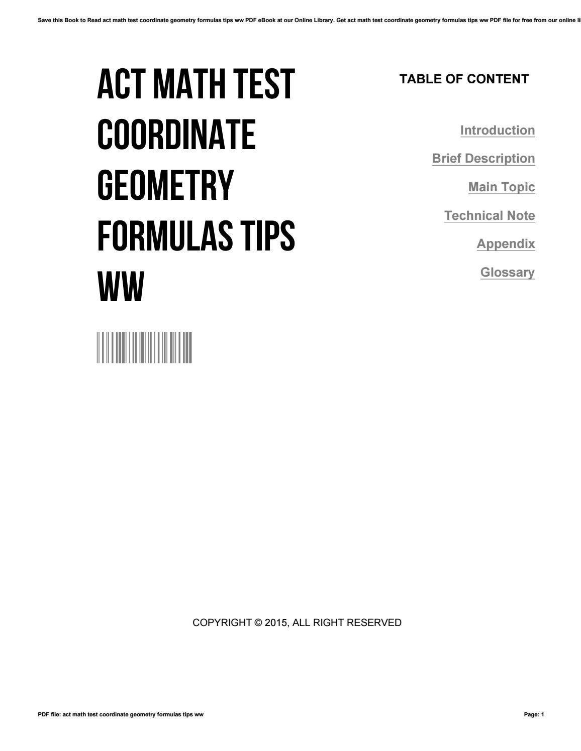 Act Prep Math Worksheets Pdf Act Math Tips Sneide Free Printable Math Worksheets Kindergarten Subtraction Worksheets Printable Math Worksheets