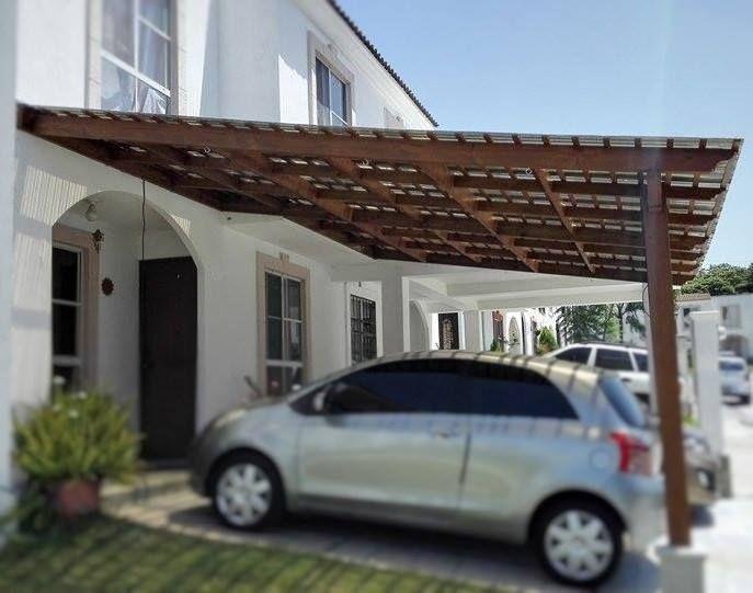 small garages ideas - Cochera pérgola marquesinas Pinterest