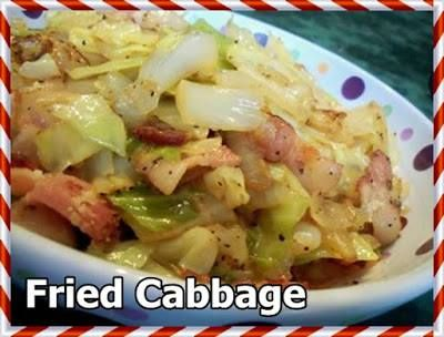 Fried Cabbage – Land Of Recipes