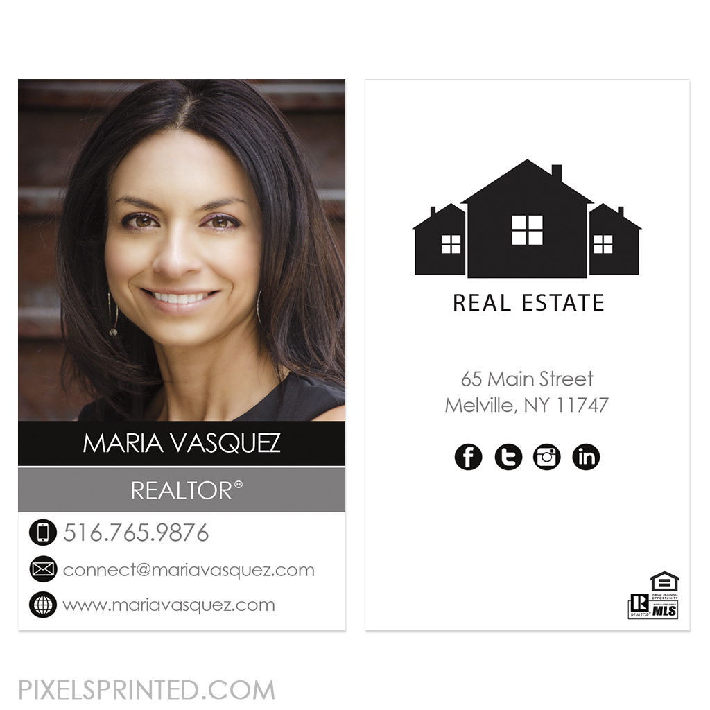 Independent Deluxe Real Estate Business Cards