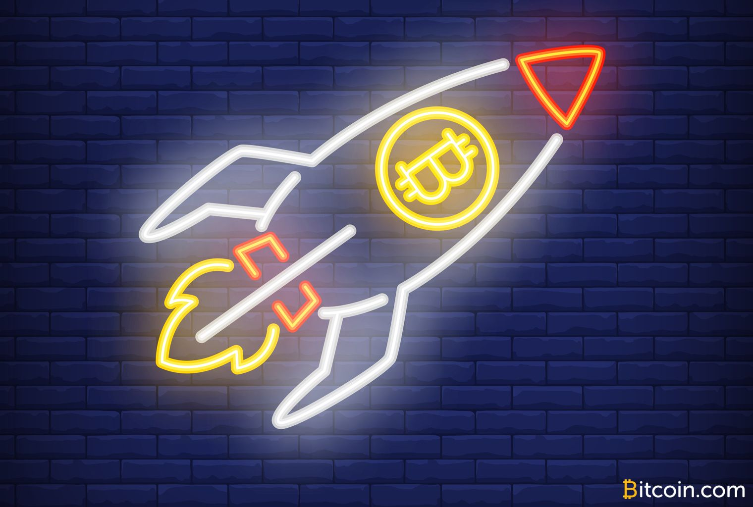 neon btc rocket Cryptocurrency, Bitcoin, Cloud mining