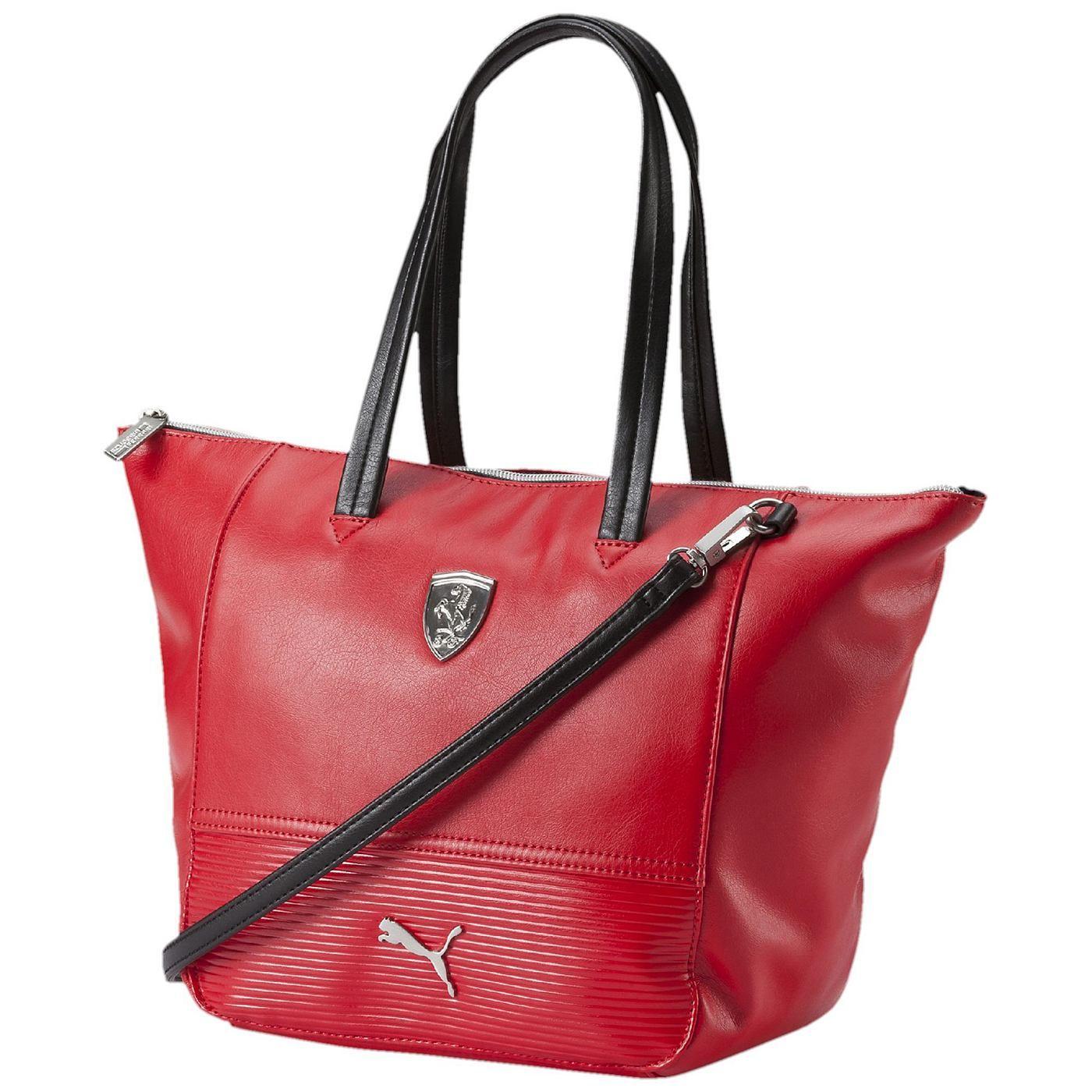 ae1dfa8c7e252 Ferrari Handtasche Diese langlebige Ferrari-Handtasche von PUMA ergänzt  dein sportliches Outfit perfekt. Und sie lässt den erfolgreichsten ...