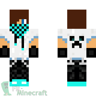 Minecraft Cool Skins For Boys Aperçu De La Skin Minecraft Skater - Minecraft skins fur die ps3
