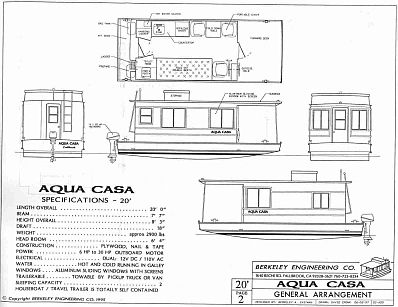 TRAILERABLE HOUSEBOAT PLANS Home Plans Home Design Stuff for