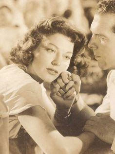 "Ava Gardner in ""Singapore,"" 1947 with Fred MacMurray"