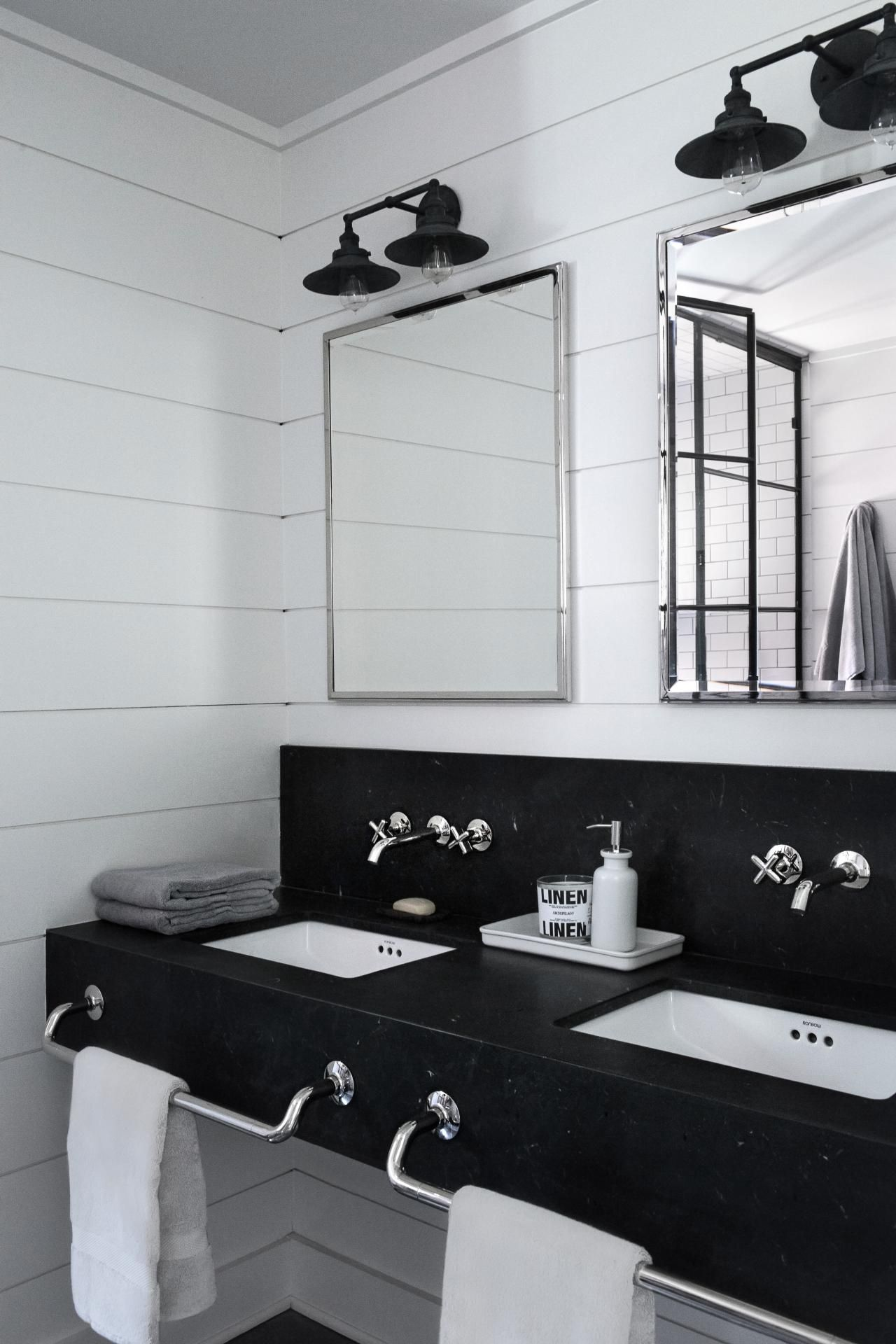 Trends We\'re Loving: Wall-Mounted Faucets | Bathrooms | Pinterest ...