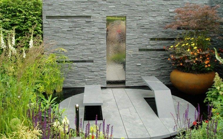 Jardines Pequeos Y Patios Traseros De Diseo Nico dentro Diseño De