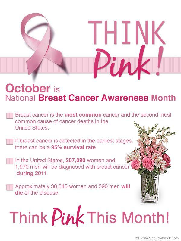 Breast cancer awareness pamphlet