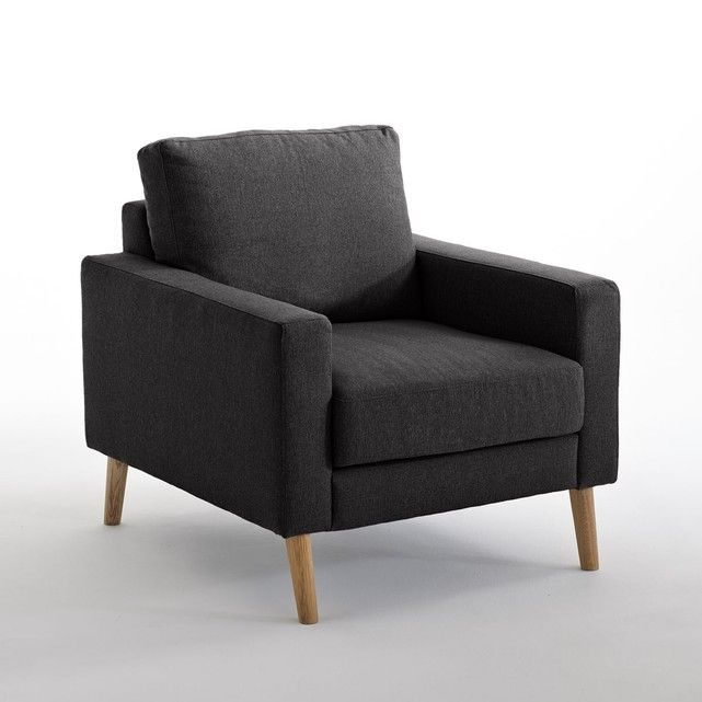 Fauteuil Fixe Stockholm Polyester Chiné Confort E Stockholm And - Fauteuil confortable salon