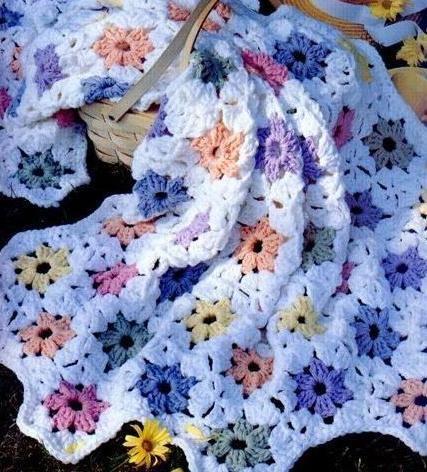 Outstanding Crochet 6 Petal Flower Pattern Vignette - Knitting ...