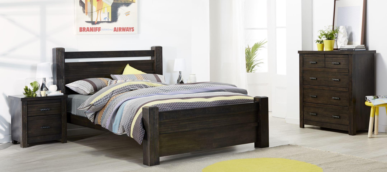Tasmanian Oak Bedroom Furniture Sakeh Dark Wood Grain Bedroom Furniture Suite With Grey Yellow