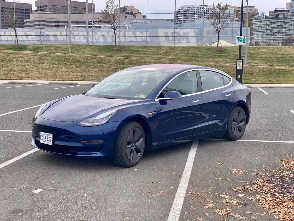 2018 Tesla Model 3 Long Range Rwd 2018 Deep Blue Tesla Model 3 Long Range With Enhanced Autopilot Full Custom Ppf 2018 Tesla Model 3 Tesla Model Tesla
