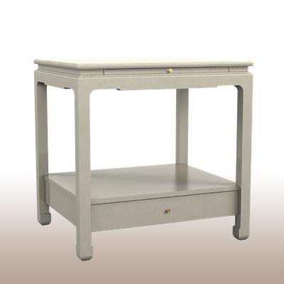 Alexa Hampton For Hickory Chair Sara Side Table As A Nightstand