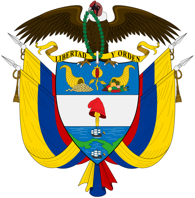 Coat Of Arms Of Colombia Coat Of Arms National Symbols History Of Colombia