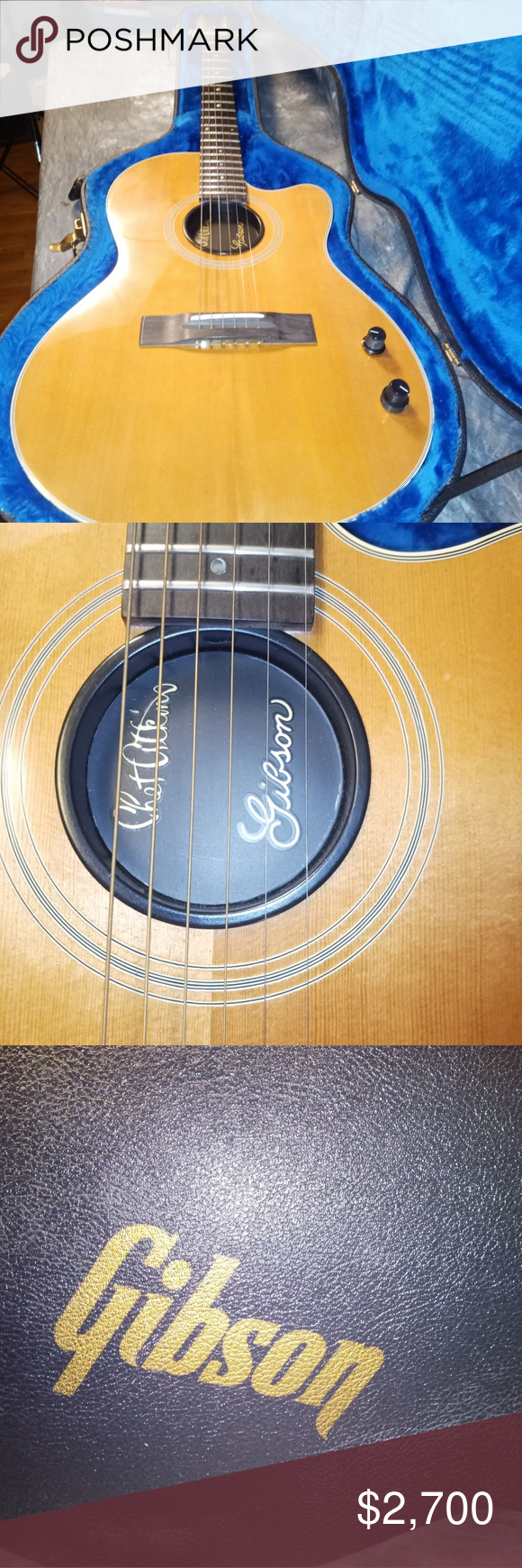 1987 Gibson Guitar Built in: 29 May 1987  Manufactured in Nashville or Memphis.  Right handed electro-Acoustic: Chet Atkins Bozeman, Montana Gibson Other #gibsonguitars
