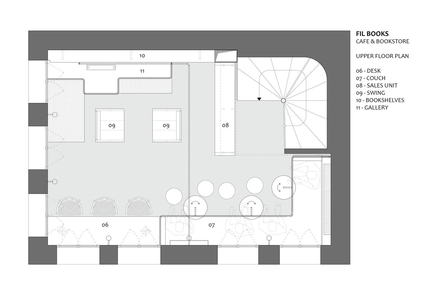 Gallery Of Fil Books Halukar Architecture 11 Architecture Book Cafe Bookstore