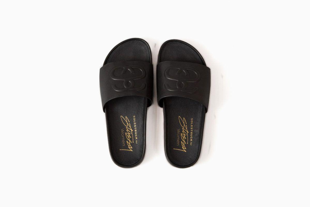 SS Link Slide Sandal (Black)