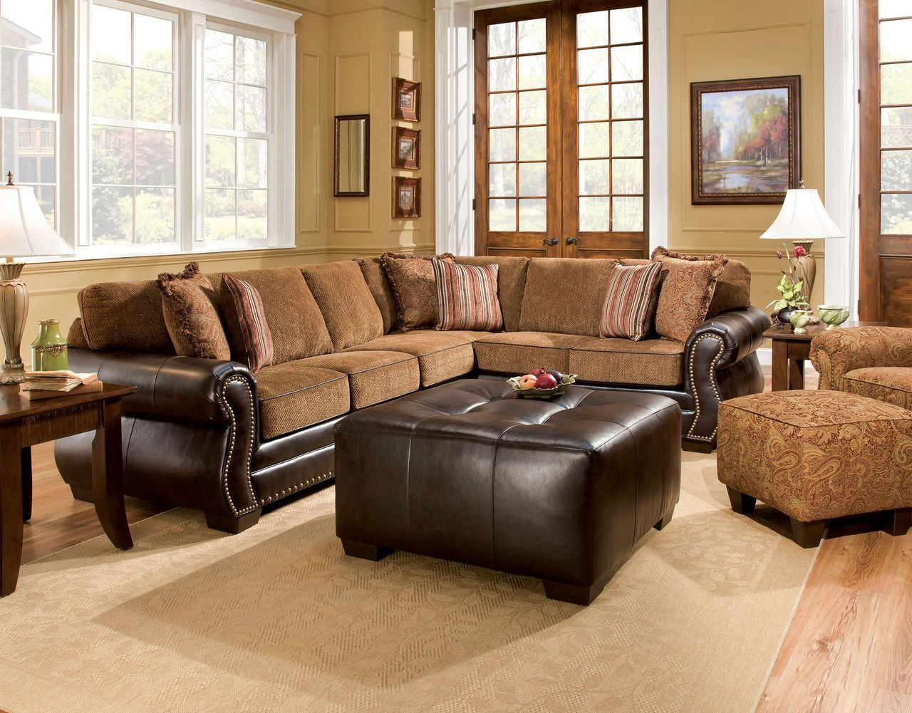 Best Sectional Sofa Sm5124 Dexter Collection The Perfect Fit 400 x 300