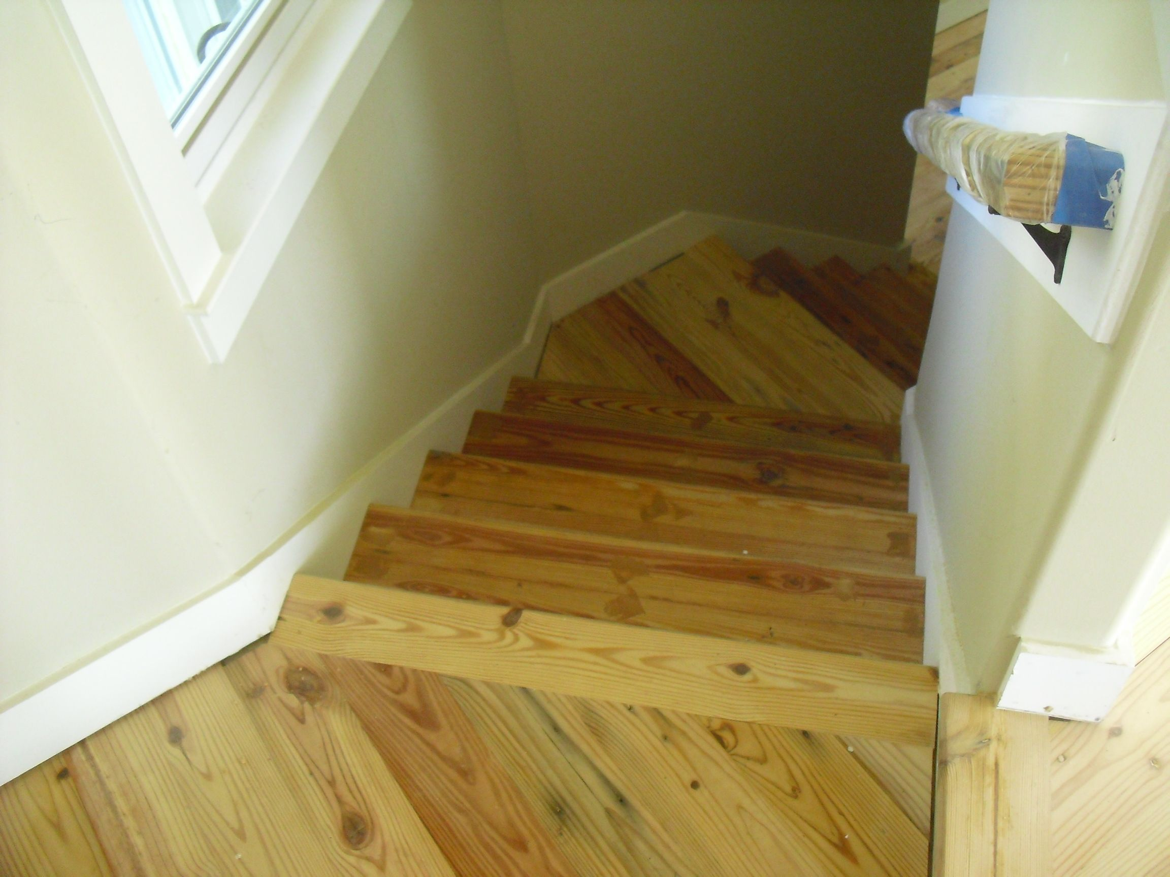 Stair Treads  Antique Heart Pine  Www.OldGrowthRiverwood.com