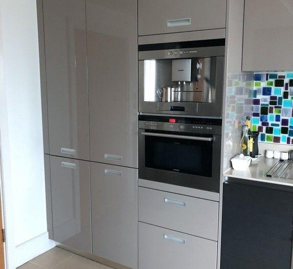 Used Linea Quattro Italian Designer Kitchen With Siemens