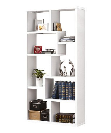 Look what I found on #zulily! White Open Bookcase #zulilyfinds $170