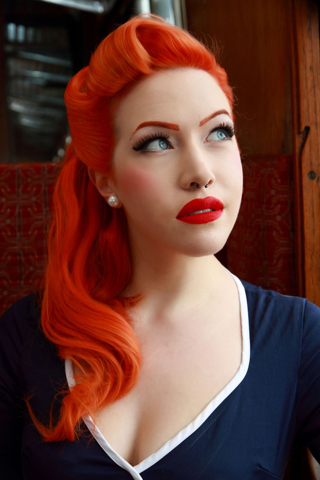 Pin up model loulou doll photographer david mardell photography