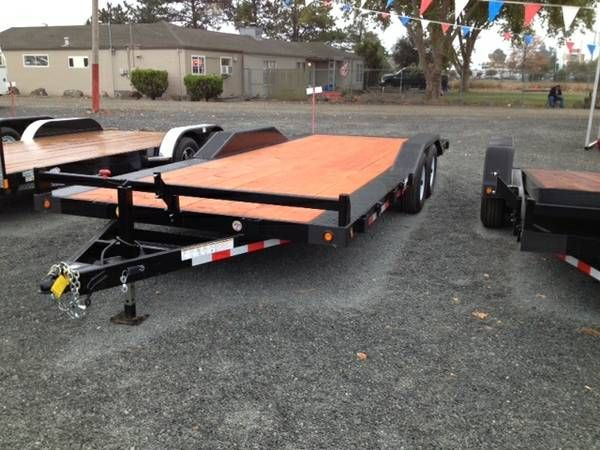 2014 Fabform Rock Crawler Trailer 98 Wide Deck 20' Long