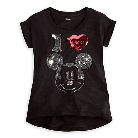 Mickey Mouse Tee for Women | Tees, Tops & Shirts | Disney Store for when i go back to Dworld