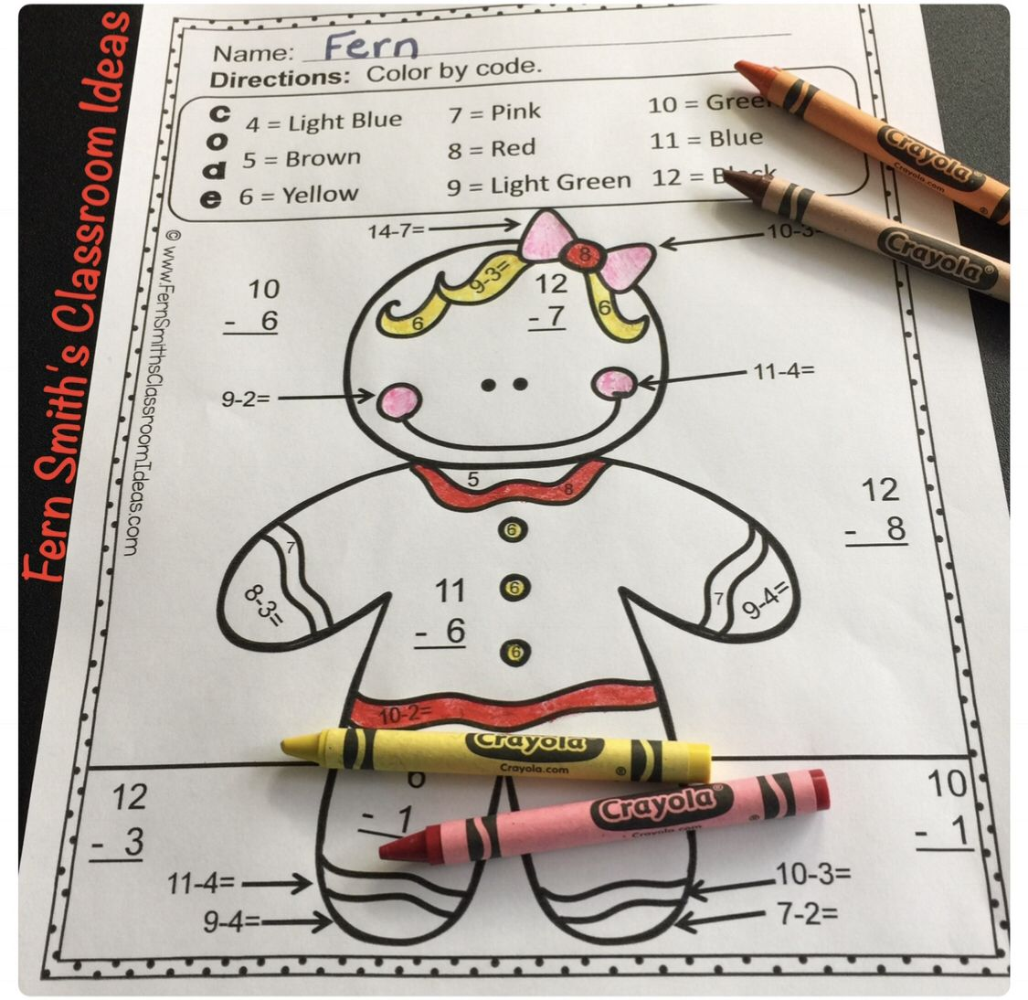 Your Students Will Adore These Christmas Color Your Answer