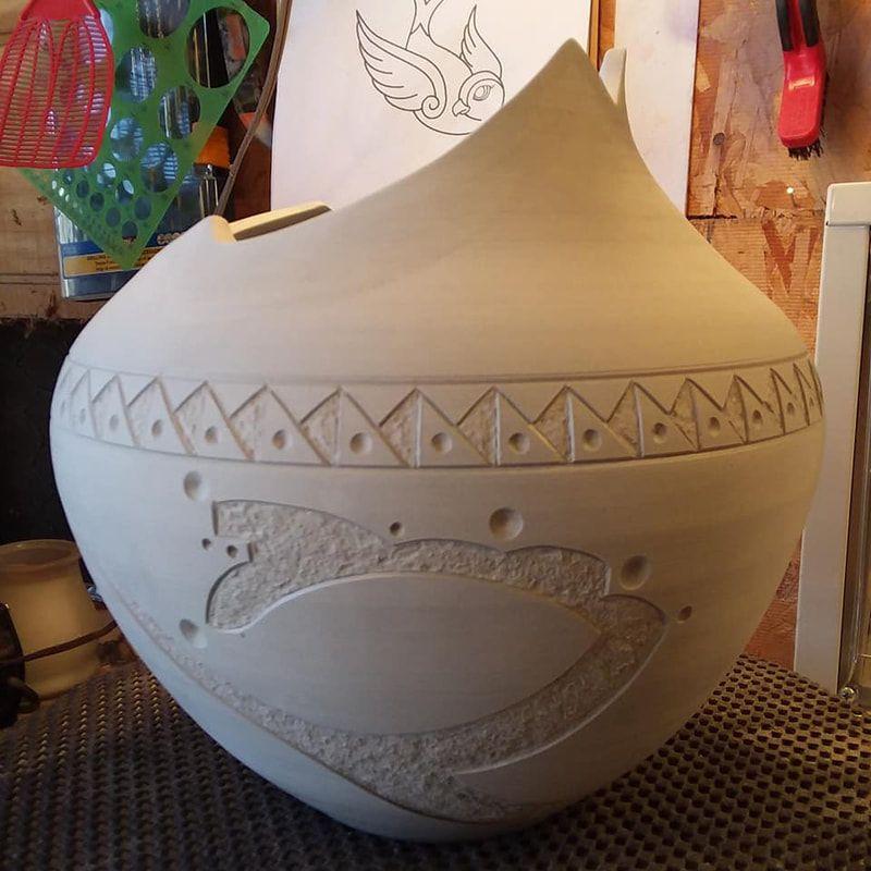 Ceramics ceramic tattoo art ceramics ceramic studio