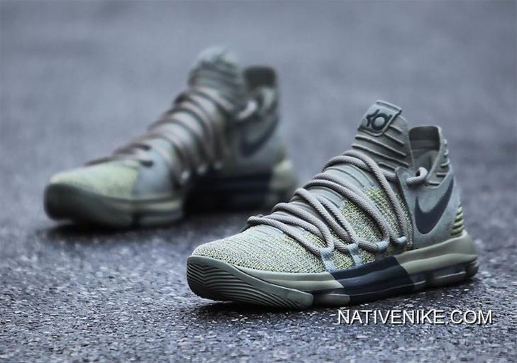 best sneakers 91559 1efaf Discount Nike KD 10 Dark Stucco Anthracite