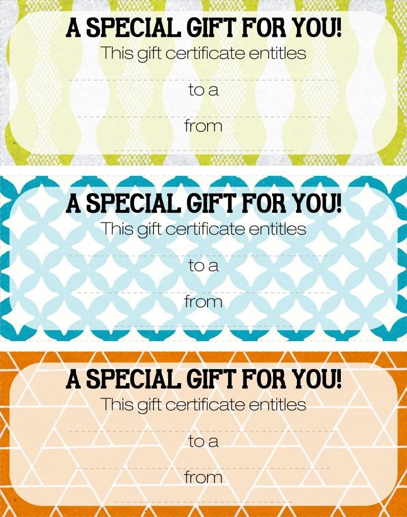 Pretty Printable Coupons Give This To Let Them Know They Are For