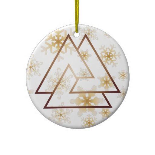 Christmas Tree History Pagan: The Norse Valknut Symbol - 7 - Ornament