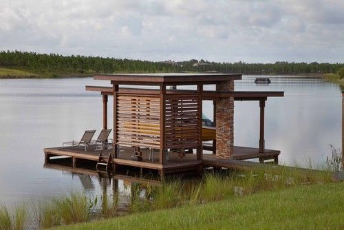 BoatHouse and dock Contemporary Architectural Design | B-Buildings ...