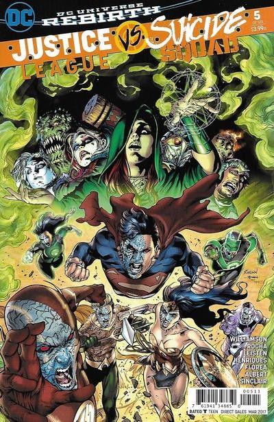 JUSTICE LEAGUE 5 Rebirth   Panini Comics  2017