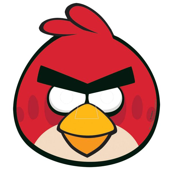 angry bird mask template - Boat.jeremyeaton.co