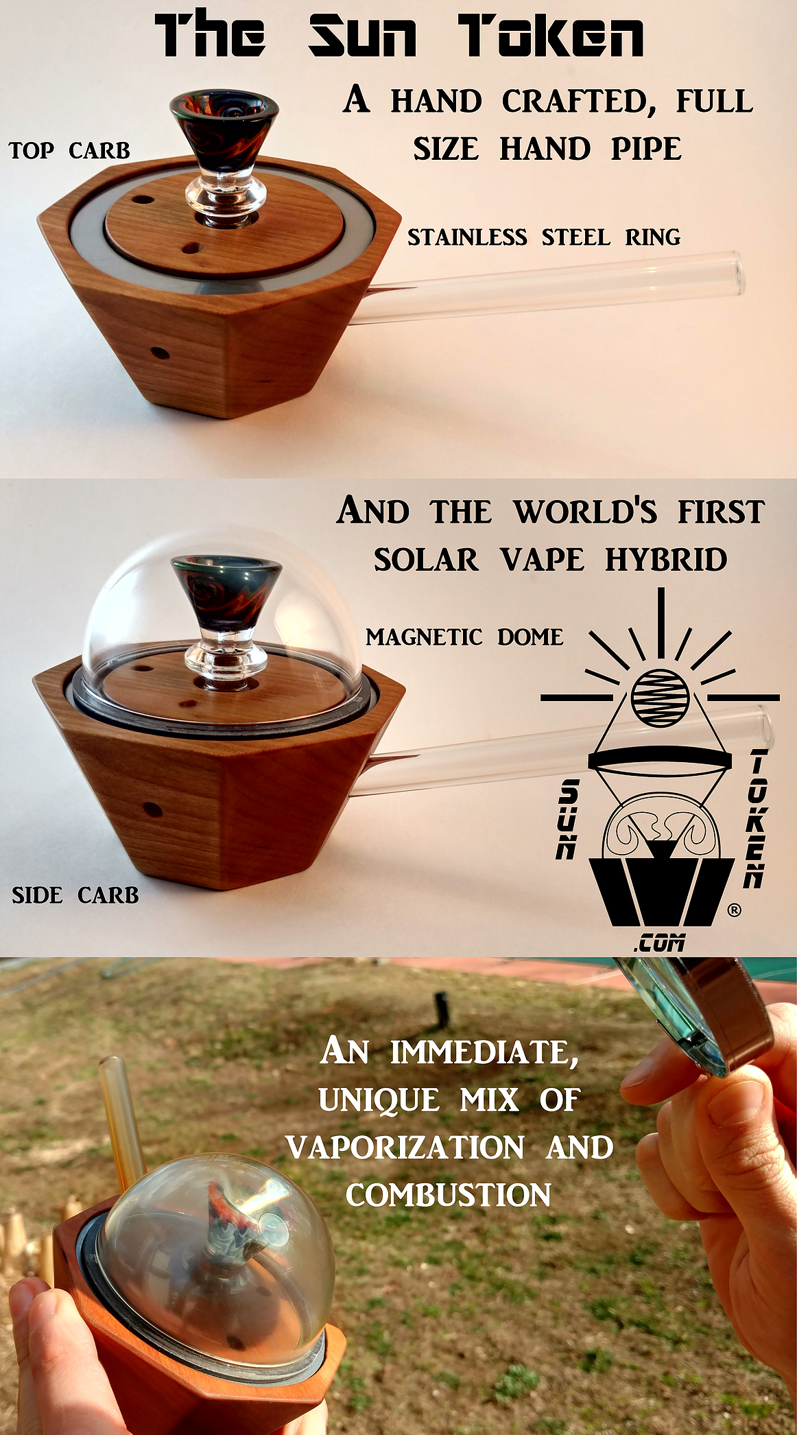 The Sun Token  The Worlds First Solar Vape Hybrid