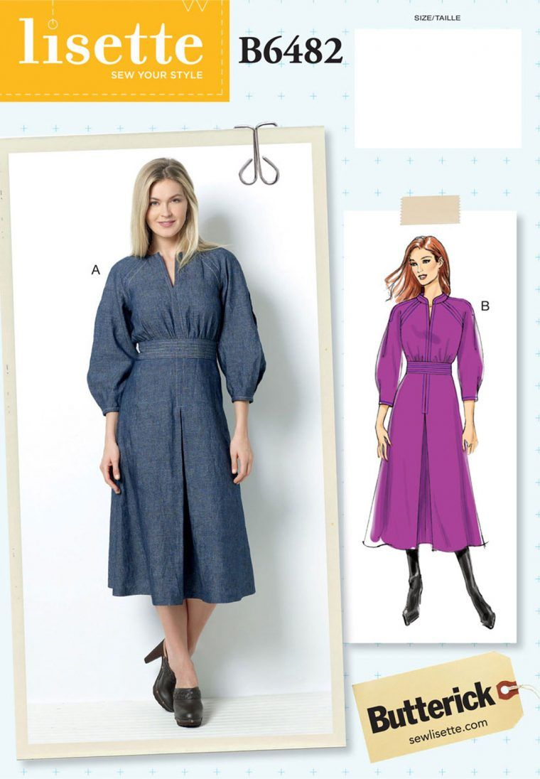 f811bfdb21f35 new for fall, introducing lisette for butterick B6482 | Sewing ...