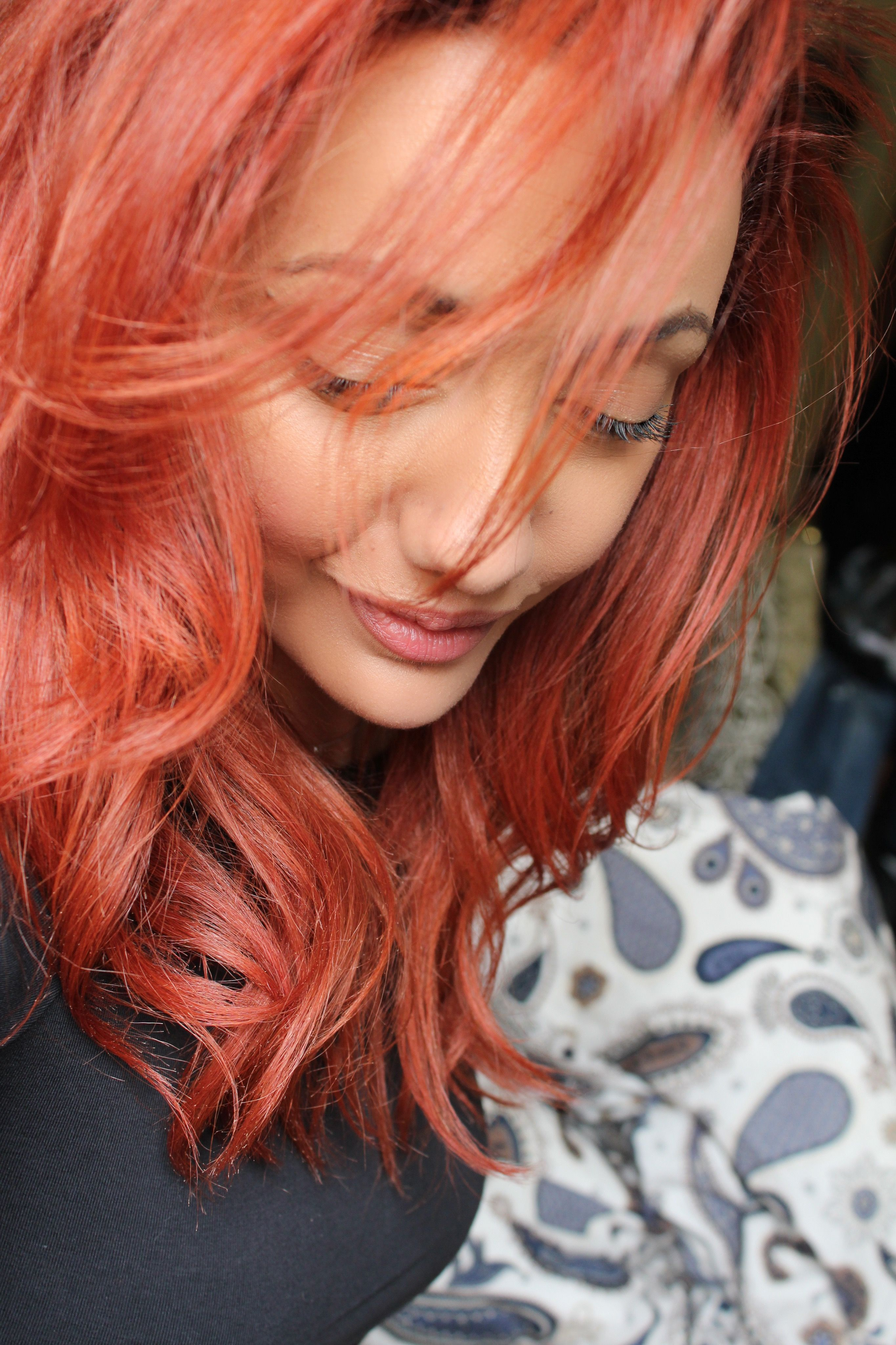 Red Hair Apricot Red Hot Red Intense Red Light Auburn Medium