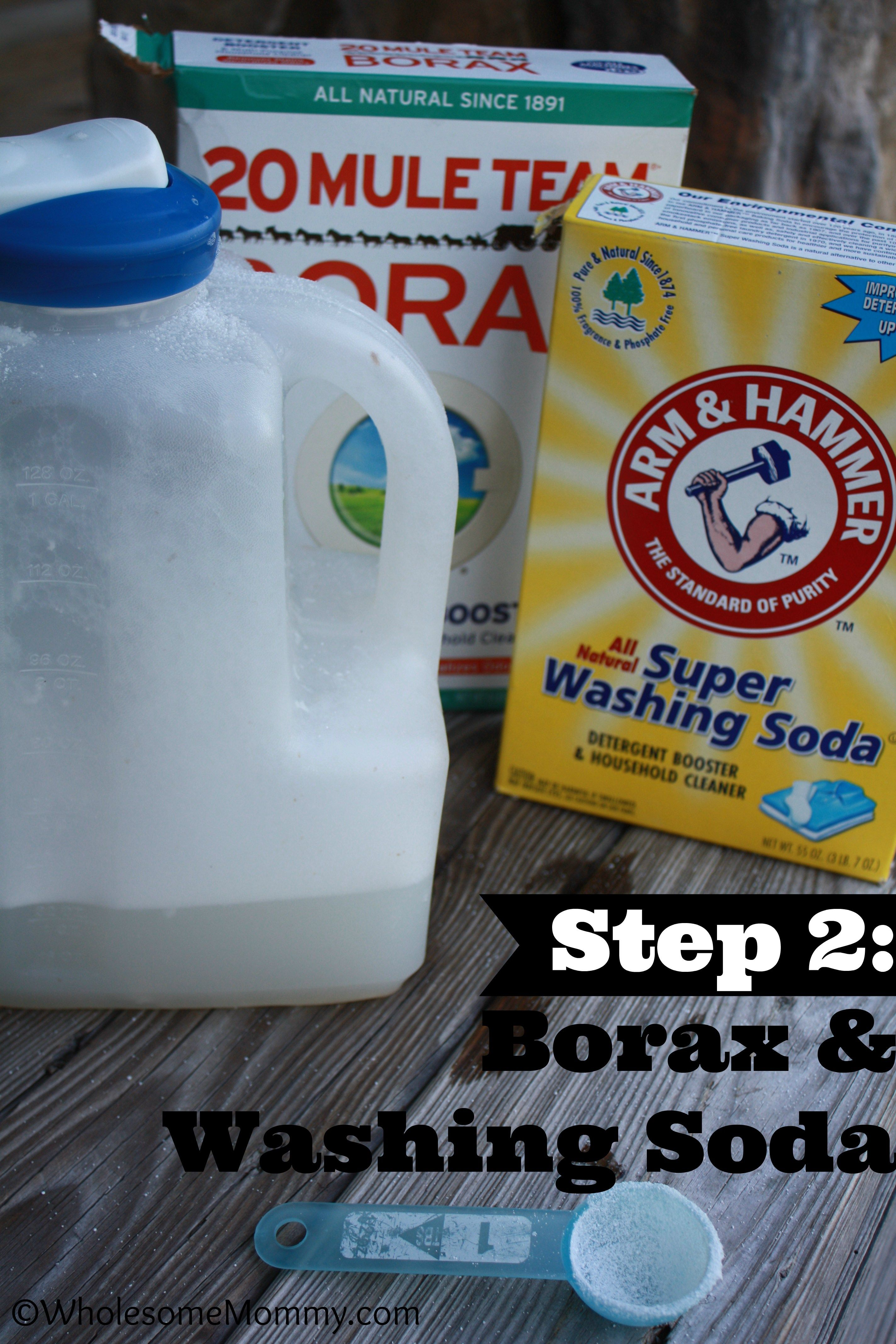 Homemade Chemical Free Detergent In 5 Minutes Chemical Free