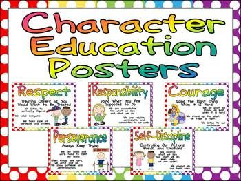 Character Education Posters and Writing Prompts | Friendship ...