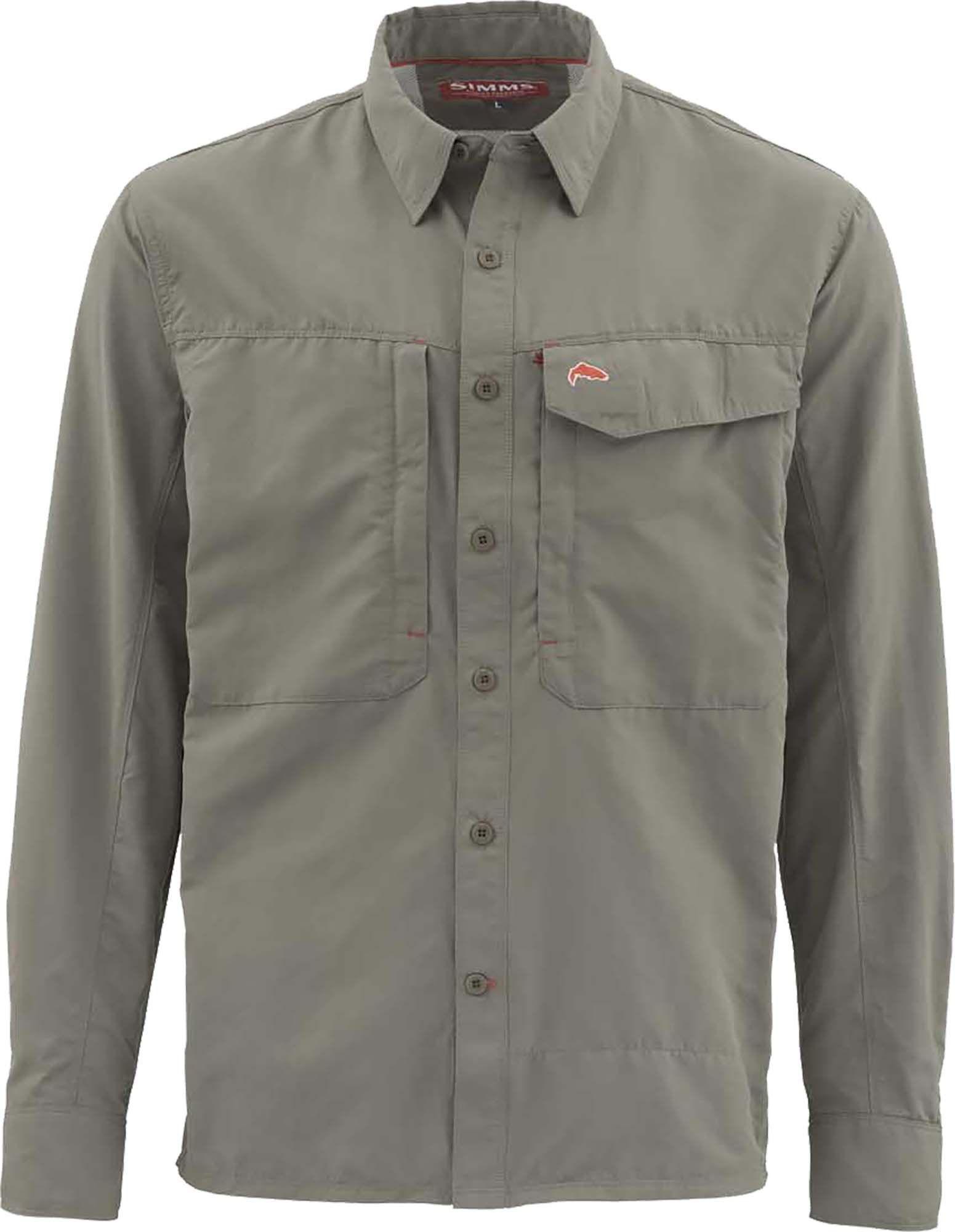 Simms Simms Men S Guide Solid Long Sleeve Button Down Shirt Walmart Com Long Sleeve Shirt Men Long Sleeve Shirts Mens Shirts [ 2000 x 1551 Pixel ]