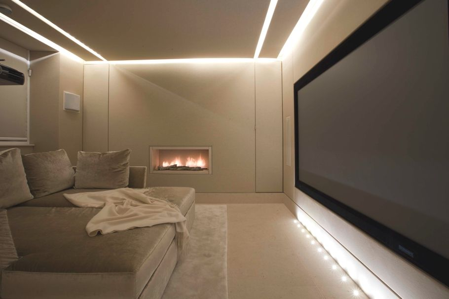 Private Residence In Knightsbridge By Lawson Robb London Home Cinema Room Home Theater Rooms Home Theater Design