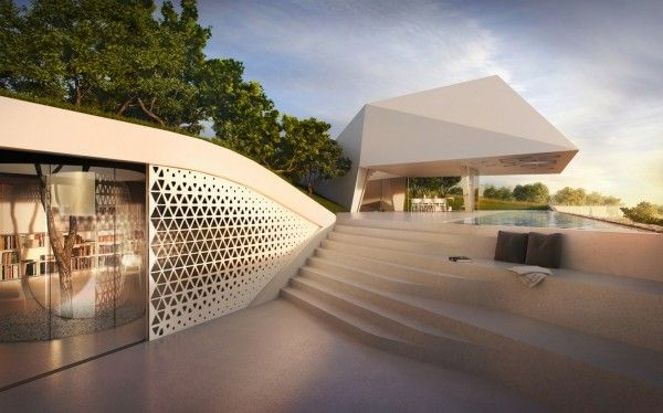 Environmentally Innovative Greek Holiday Home Spectacular Home